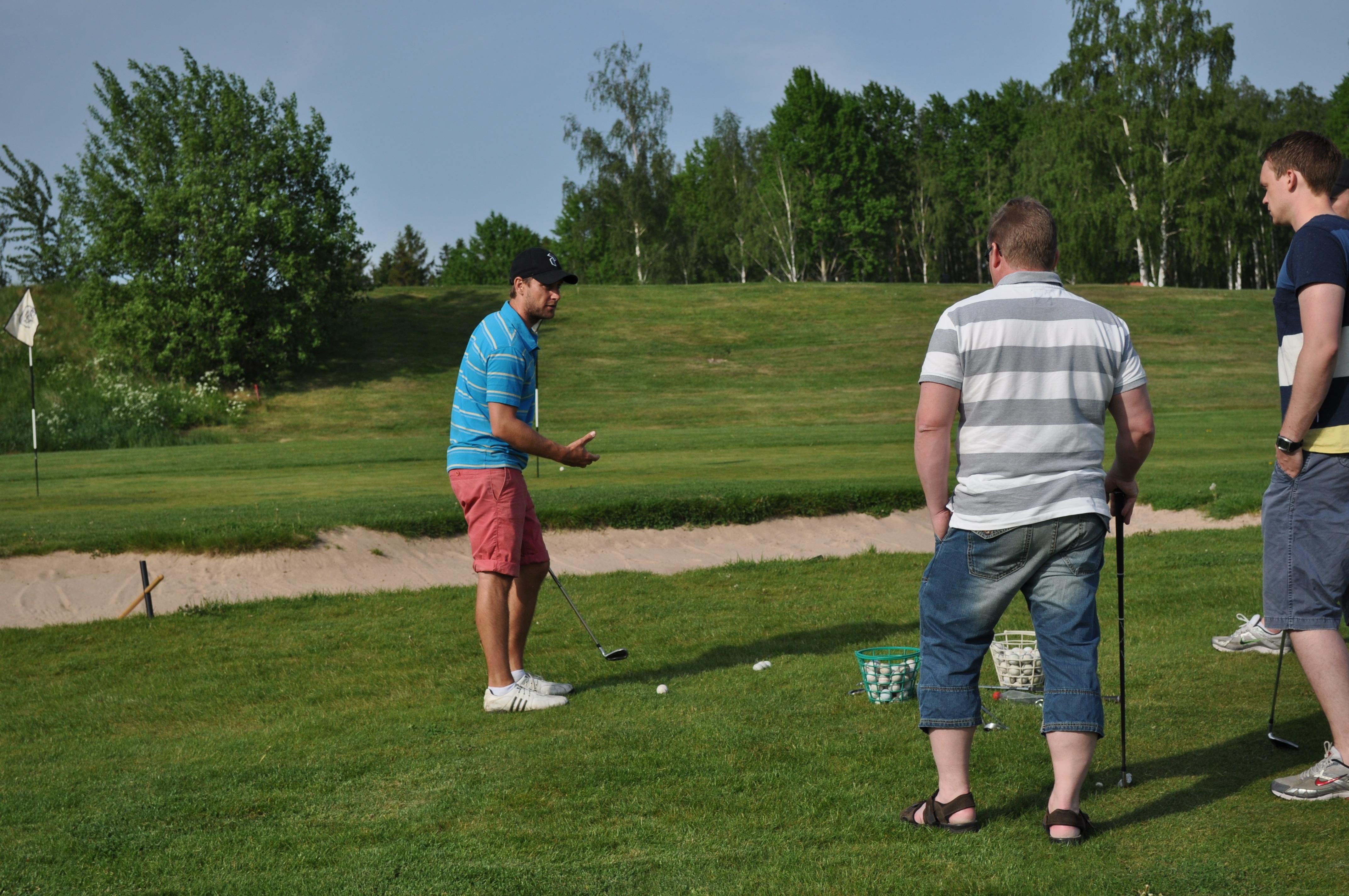 Michael Persson golftränare